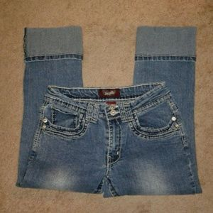 Angels Size 6 crop jeans